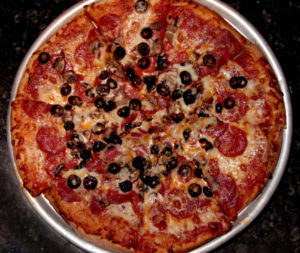 Pepperoni with Olives