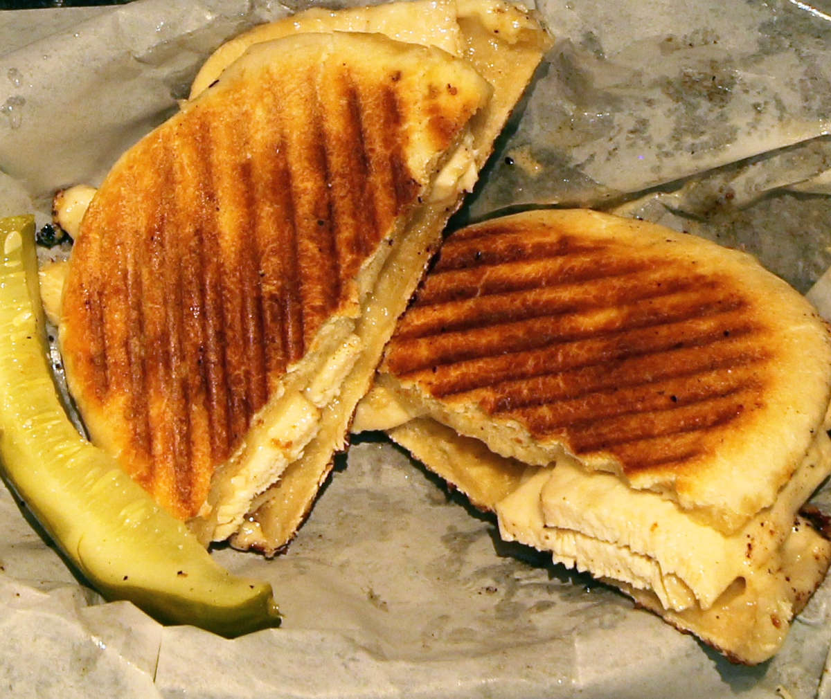 Screaming Chicken Panini